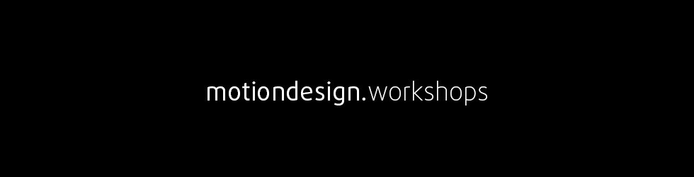 Motion Design Workshops